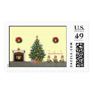 Kitten Carolers Postage Stamp