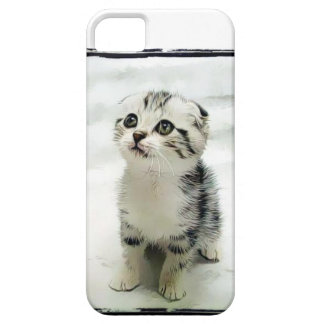 Kitten iPhone 5 Covers