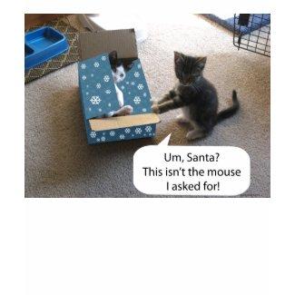 Kitten Christmas Surprise Longsleeve T-shirt shirt