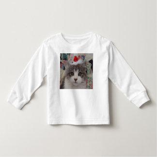 Kitten Christmas Toddler T-shirt