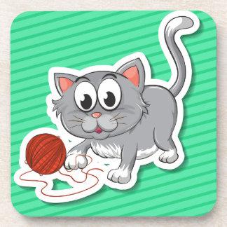 Kitten Drink Coasters