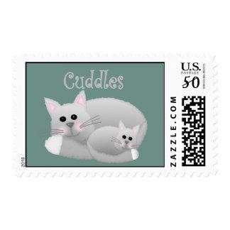 Kitten Cuddles Postage