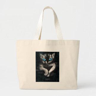 Kitten Cute Cat Pet Large Tote Bag