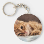 kitten design keychain