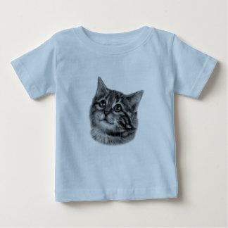 Kitten Drawing Baby T-Shirt