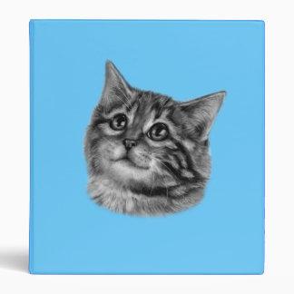 Kitten Drawing Binder