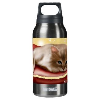Kitten Dreaming Insulated Water Bottle