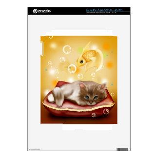 Kitten Dreams Decals For iPad 3