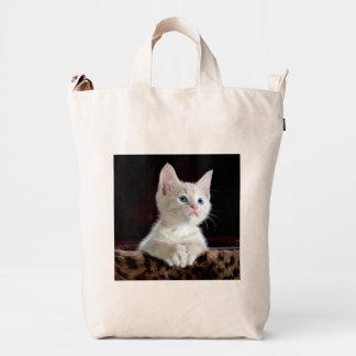 KITTEN: ENTRANCING! (adorable kitty) ~ Duck Bag