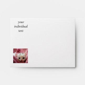 kitten envelopes