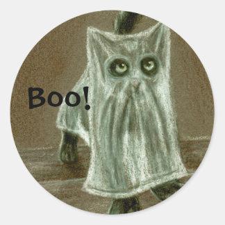 Kitten Ghost, Boo! Sticker