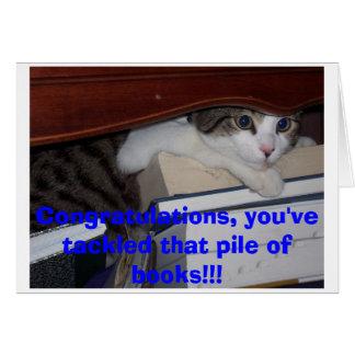 Kitten Graduation Card