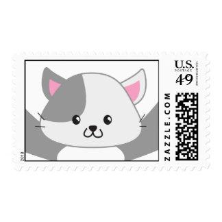 Kitten Hugs Postage
