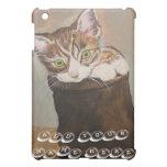 "Kitten in a Boot ""Fur Lining"" iPad Mini Cover"