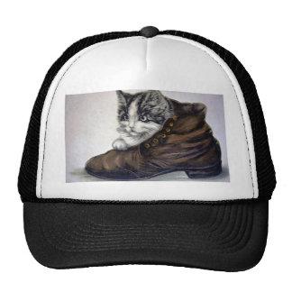 Kitten in a Shoe Trucker Hat