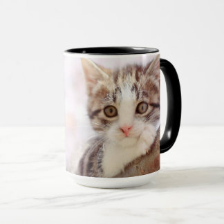 Kitten In A Tree Mug