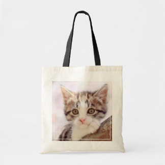 Kitten In A Tree Tote Bag