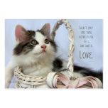 Kitten in Basket (Love) Profile Business Cards