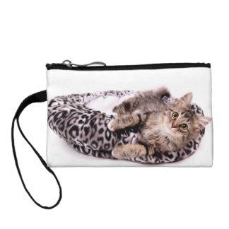 Kitten In Bed Coin Wallet