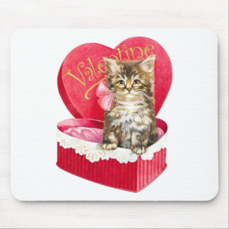 Kitten in Candy Box Mouse Pad