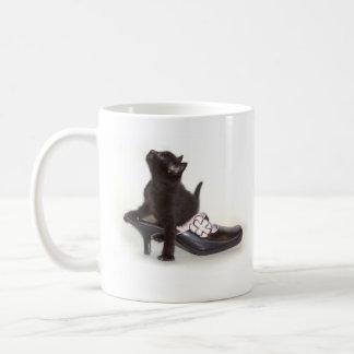 Kitten in Shoe Mug