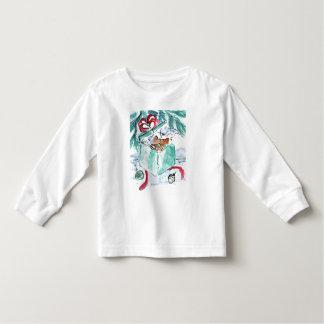Kitten in Shredded Christmas Present Box Toddler T-shirt