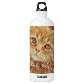 Kitten in Snow SIGG Traveler 1.0L Water Bottle