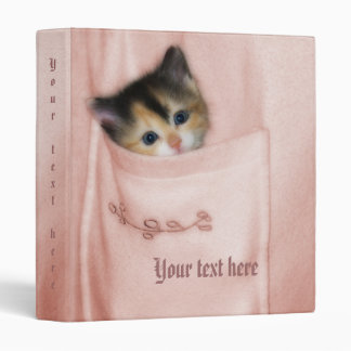 Kitten in the Pocket 2 Binder