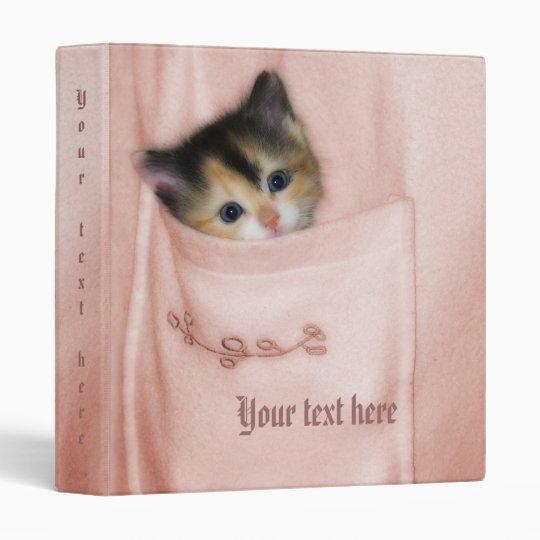 Kitten in the Pocket 2 Binder
