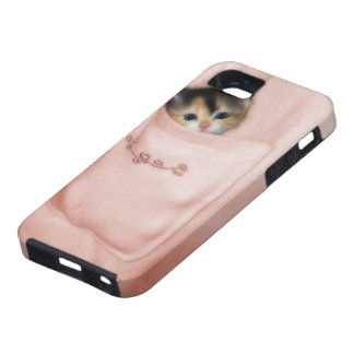 Kitten in the Pocket 2 iPhone 5 Cover