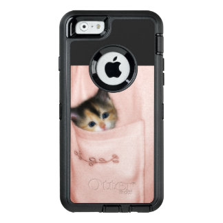 Kitten in the Pocket 2 OtterBox Defender iPhone Case