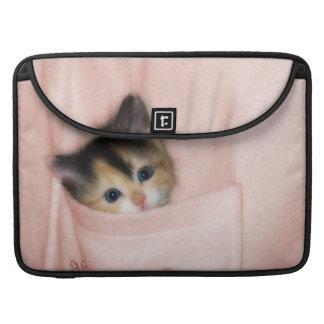 Kitten in the Pocket 2 Sleeves For MacBooks