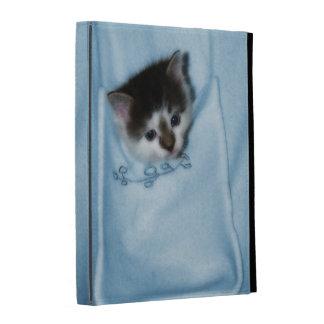 Kitten in the Pocket iPad Folio Cover