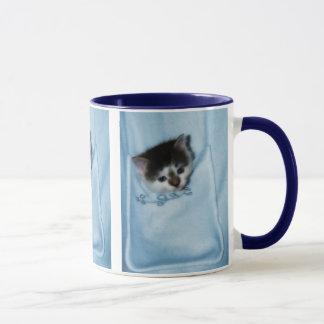 Kitten in the Pocket Mug