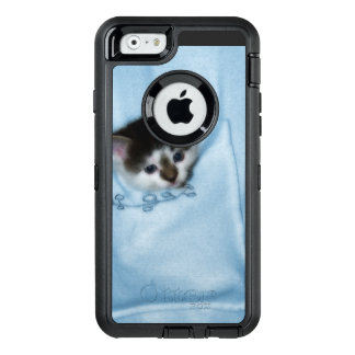 Kitten in the Pocket OtterBox Defender iPhone Case