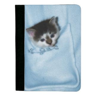 Kitten in the Pocket Padfolio