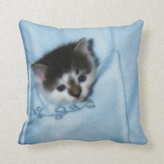 Kitten in the Pocket Pillow
