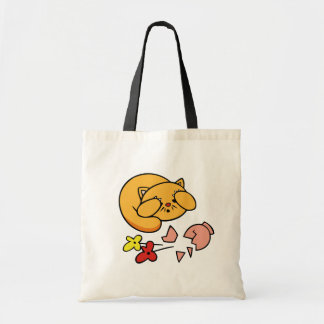 Kitten in Trouble Tshirts and Gifts Canvas Bags