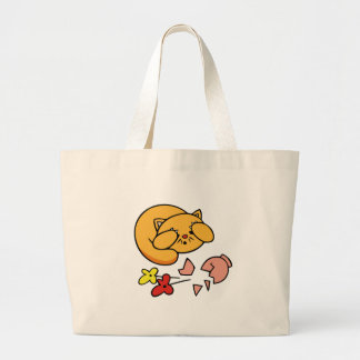 Kitten in Trouble Tshirts and Gifts Tote Bag