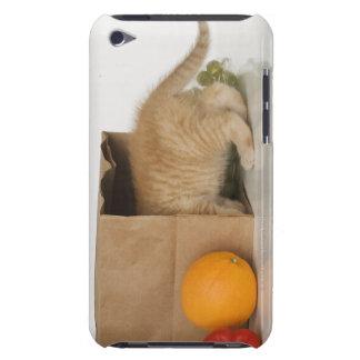 Kitten inside grocery bag Case-Mate iPod touch case
