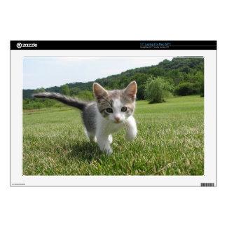 kitten laptop skin