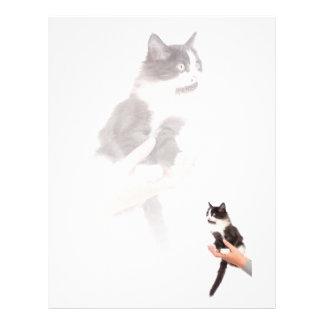 kitten letterhead template