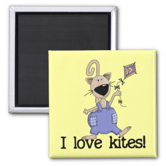 Kitten Love Kites Tshirts and Gifts Magnet