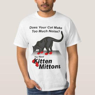 Kitten Mittons T Shirt