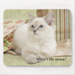 kitten mousemat mouse pad