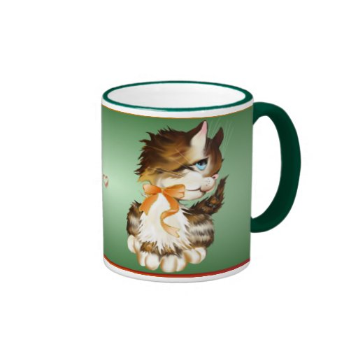 Kitten_Mugs Ringer Coffee Mug
