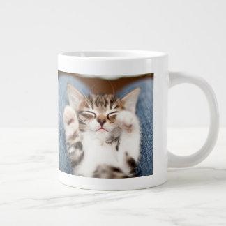 Kitten On My Lap Giant Coffee Mug