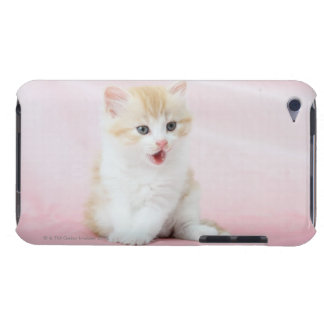 Kitten on Pink Background Case-Mate iPod Touch Case