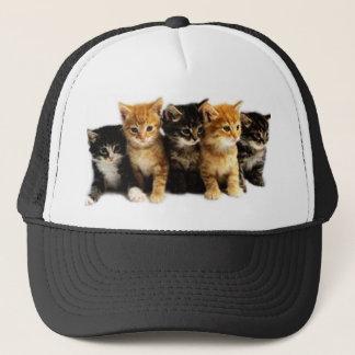Kitten Outfits Trucker Hat