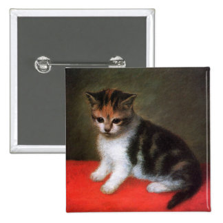 Kitten Painting by George Stubbs Button